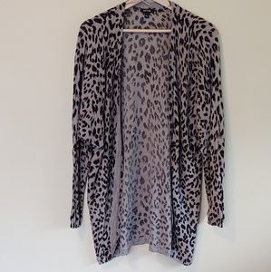 Apt 9 Animal Print long Cartigan